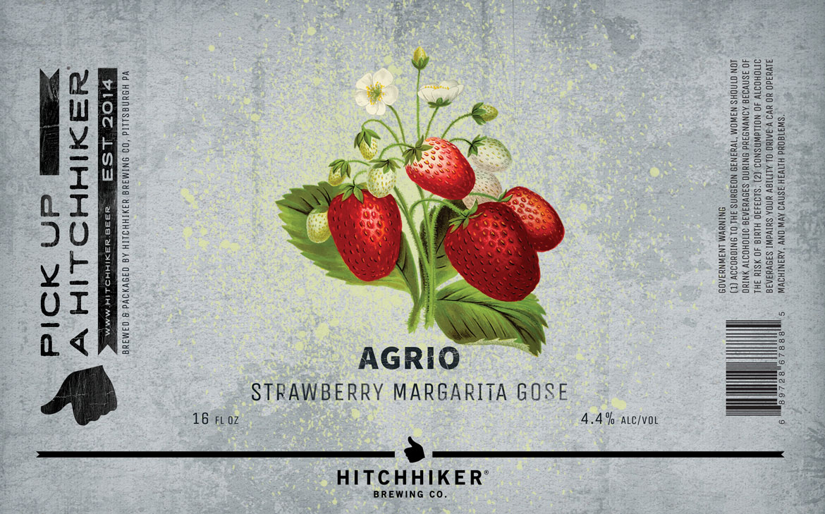 agrio strawberry hitchhiker brewing co